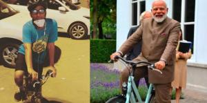modi cycling